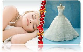 Видеть себя во сне в свадебном платье — подробное толкование