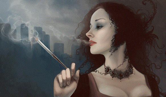 Как можно приворожить парня на сигарете